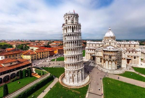 Пизанская башня. Италия