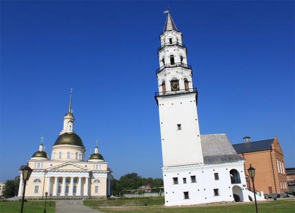 Невьянская башня. Россия