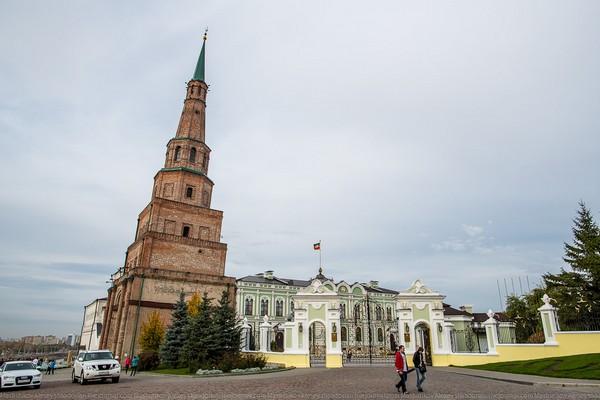 Башня Сююмбике. Казань. Россия