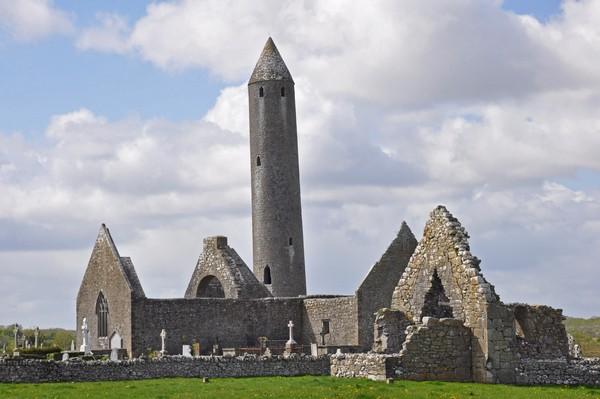 Башня в Килмакду. Ирландия
