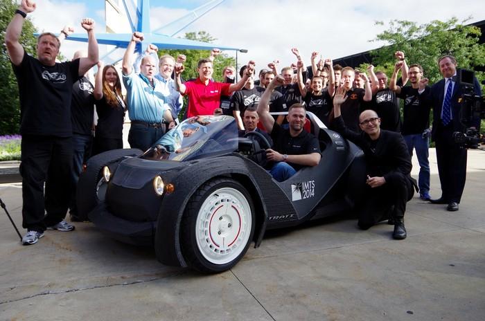 Strati – первый в мире серийный автомобиль, напечатанный на 3D-принтере