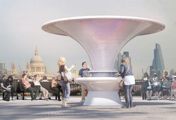 Шесть фонтанов для Лондона от шести известных архитекторов. Источник фото: Architects' Journal