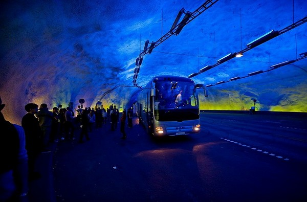 Лердальский тоннель. Источник фото: tuizm.ru