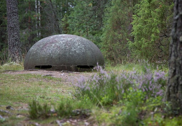 Огневая точка на линии Маннергейма. Источник фото: gosu-wot.com