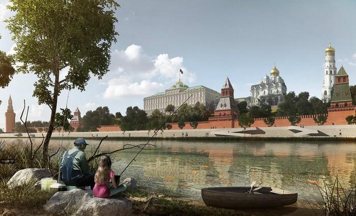 Как будут выглядеть набережные Москвы-реки в будущем?