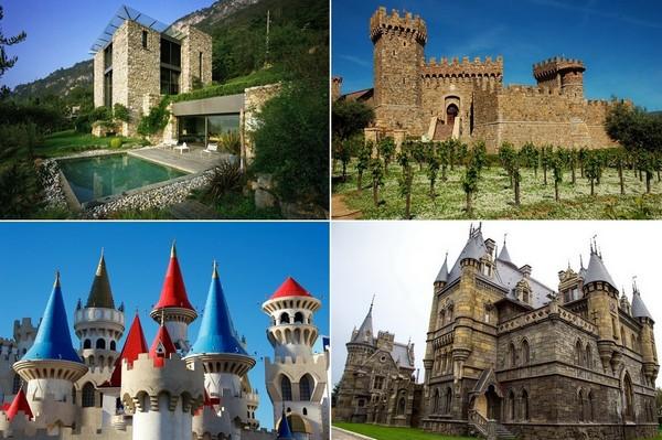 Самые необычные современные замки