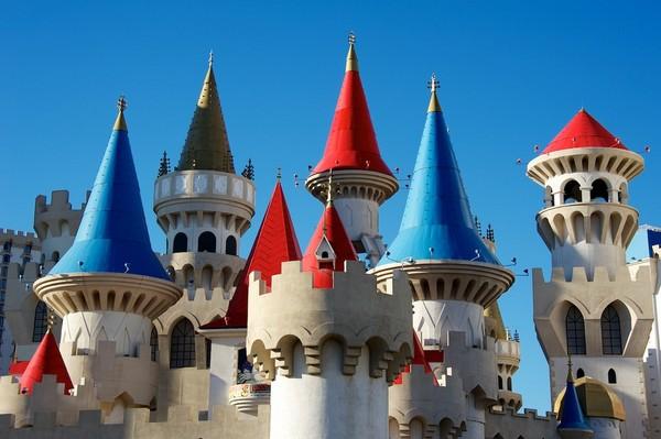 Замок Excalibur в Лас-Вегасе