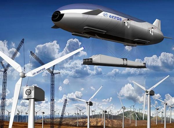 Aeroscraft – дирижабль для перевозки массивных и габаритных грузов