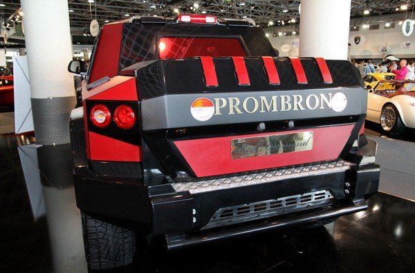 Элитный внедорожник Dartz Prombron Monaco Red Diamond Edition