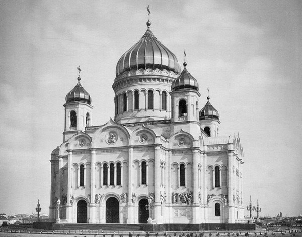 Храм Христа Спасителя до революции. Источник фото: temples.ru