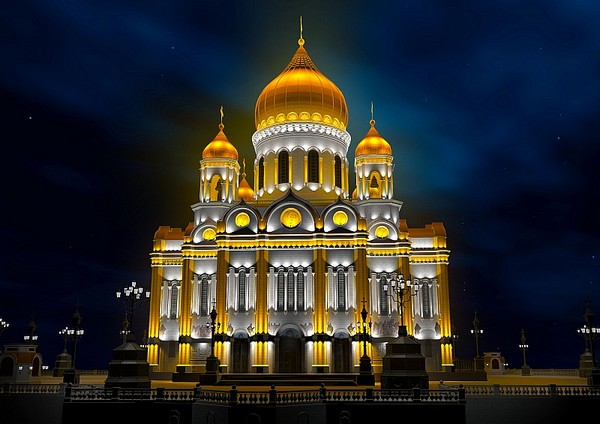 Новый Храм Христа Спасителя. Источник фото: zers-group.ru