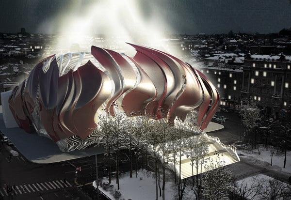 Проект реконструкции кинотеатра Россия от тайваньских архитекторов. Источник фото: vimage.cn