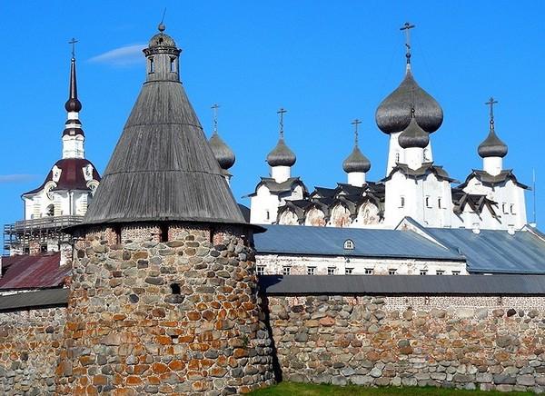 Соловецкий монастырь. Источник фото: gooddays.ru