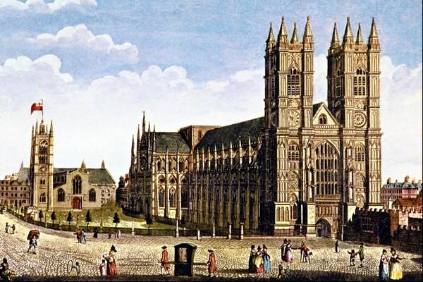 Вестминстерское аббатство. Источник фото: Википедия