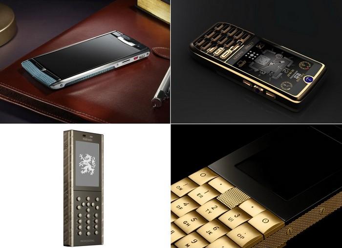 Самые дорогие в мире серийные мобильные телефоны