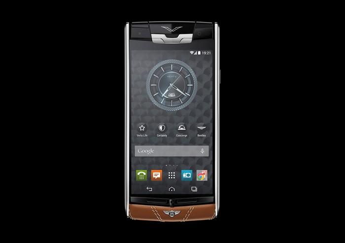 Vertu for Bentley – элитный телефон исключительно для владельцев автомобилей Bentley