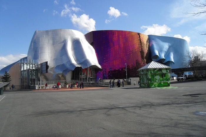 Experience Music Project – уродливый музей в Сиэтле