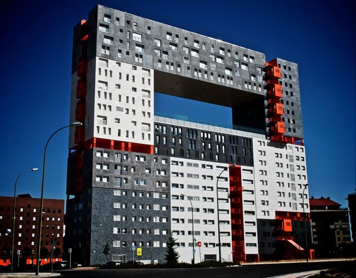Edificio Mirador – жилой дом из LEGO в Мадриде