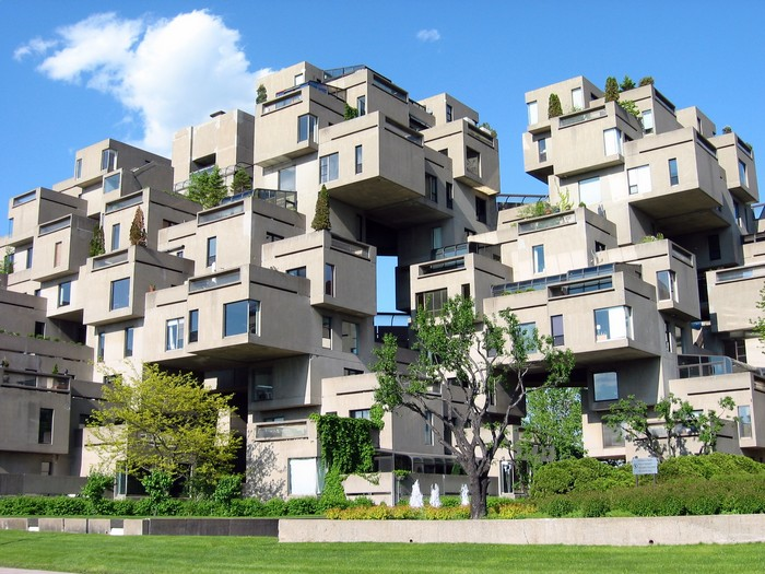Habitat-67 – дом-муравейник в Монреале