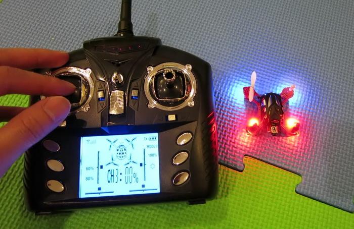 Квадрокоптер Wltoys V272 и пульт управления им