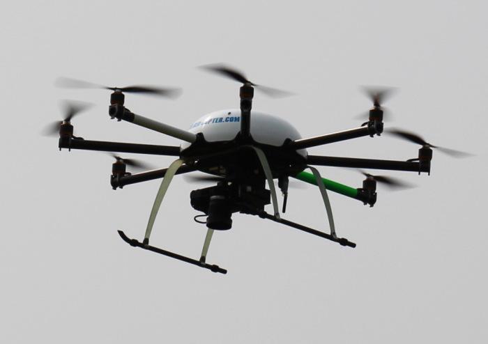 Октокоптер - беспилотный летательный аппарат с восемью моторами
