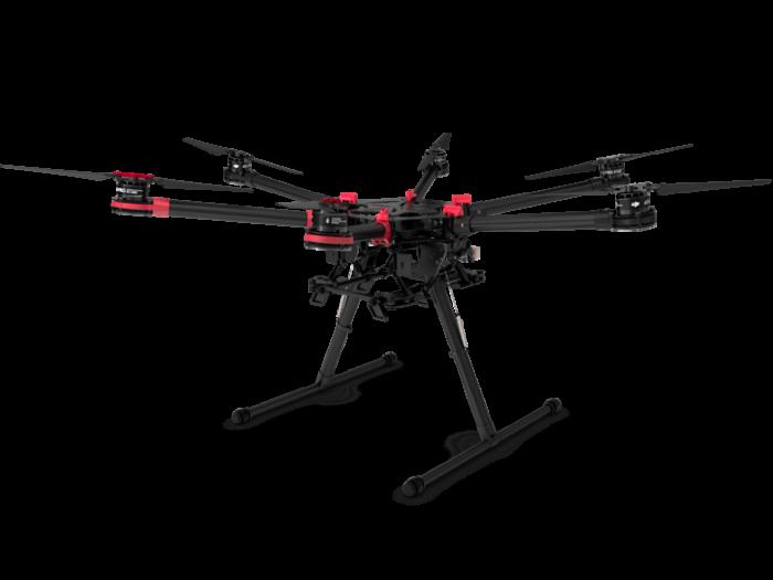 Большой гексакоптер DJI Spreading Wings S900