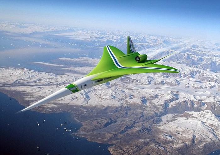 Сверхзвуковой самолет N+2 от компании Lockheed Martin