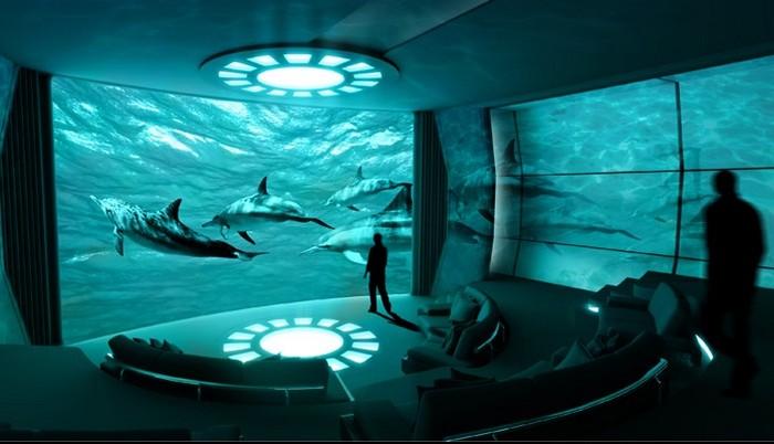 Nemo Room – первый кинотеатр IMAX на яхте