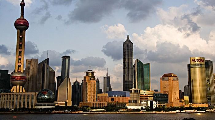 Деловой район Шанхая