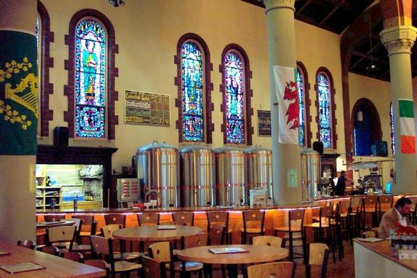 The Church Brew Works – церковь с пивоварней. Источник фото: blogography.com