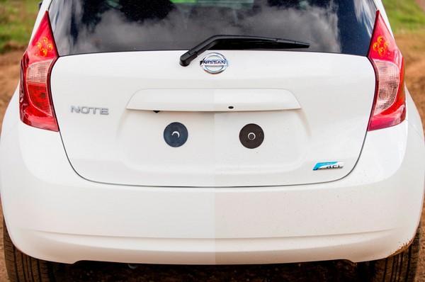 Краска Ultra-Ever Dry от Nissan. Источник фото: Nissan