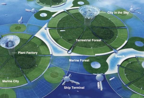 Плавучие города в Тихом океане. Источник фото: energydigital.com