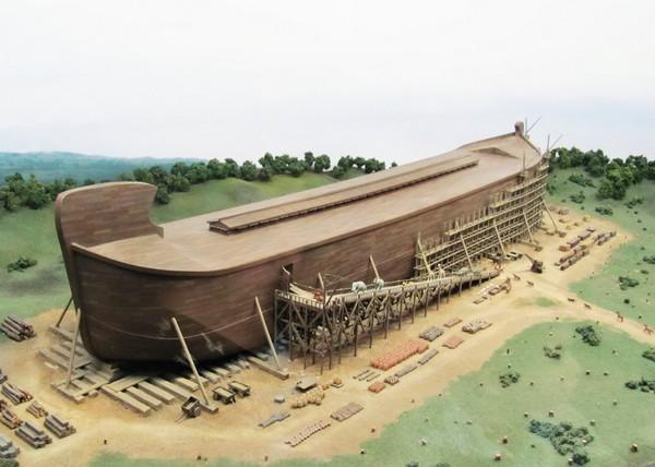 Проект Ноева Ковчега в парке развлечений Ark Encounter. Источник фото: inparkmagazine.com