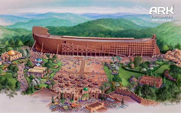 Проект тематического парка Ark Encounter. Источник фото: arkbonds.com