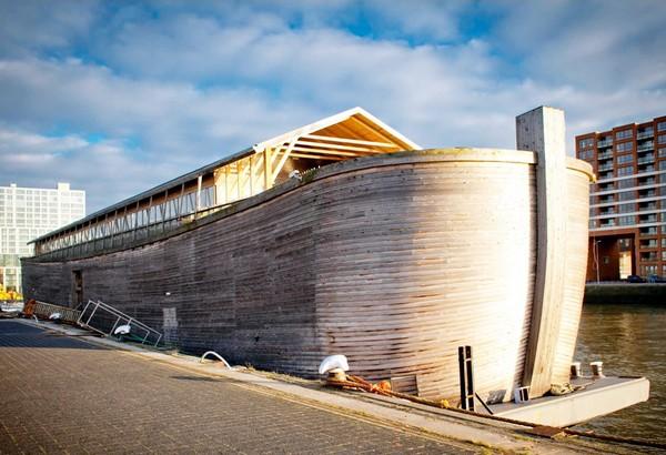 Малый ковчег Ark van Johan в Нидерландах. Источник фото: friesland.blog.nl
