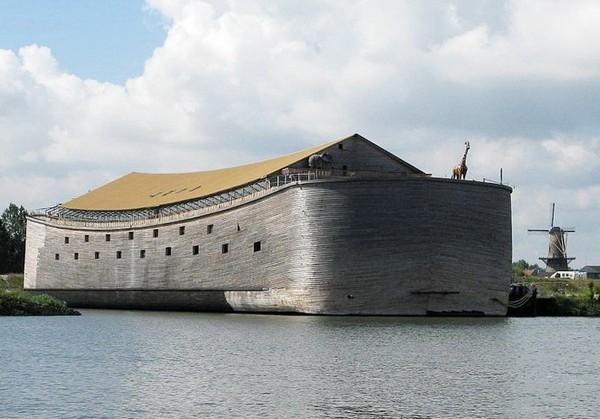 Полноразмерный ковчег Ark van Johan в Нидерландах. Источник фото: passagenproject.com