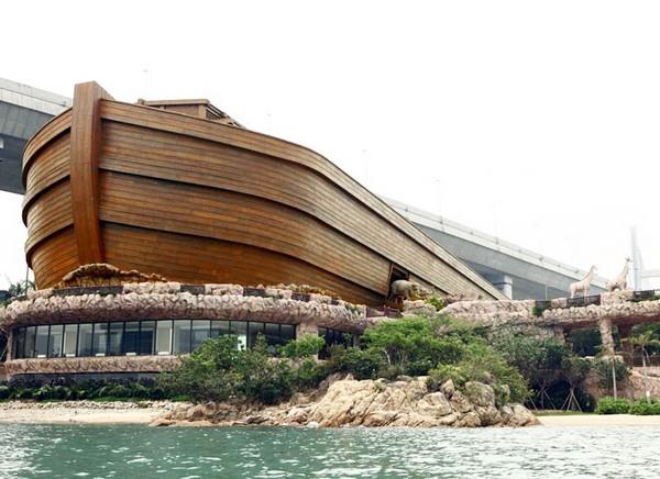 Тематический парк развлечений Noah's Ark в Гонконге. Источник фото: tehparadox.com