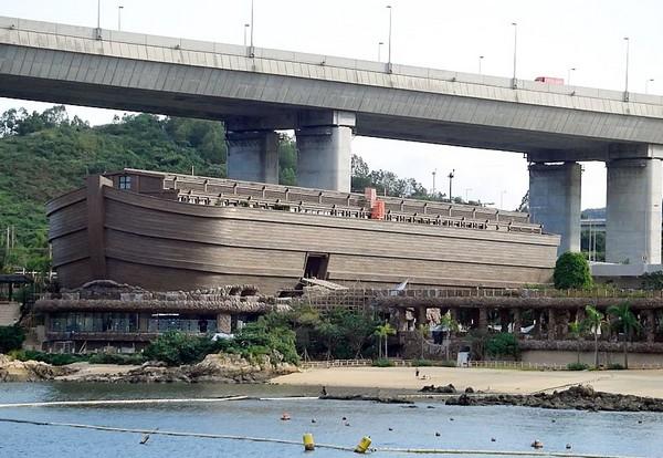 Тематический парк развлечений Noah's Ark в Гонконге. Источник фото: Panoramio