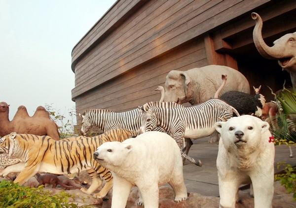 Тематический парк развлечений Noah's Ark в Гонконге. Источник фото: djkbueno.wordpress.com