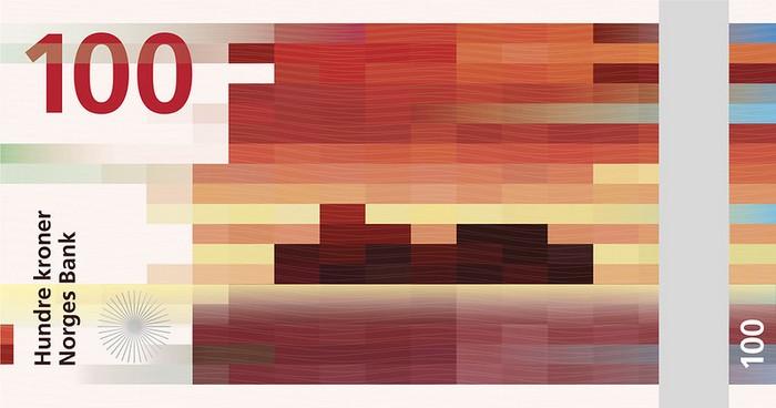 Концепция нового дизайна норвежской кроны от студии The Metric System