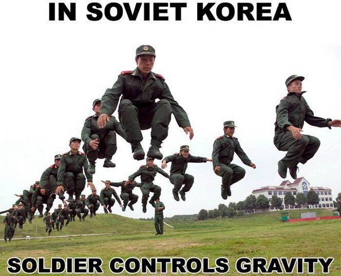 Смешные фейки про Северную Корею