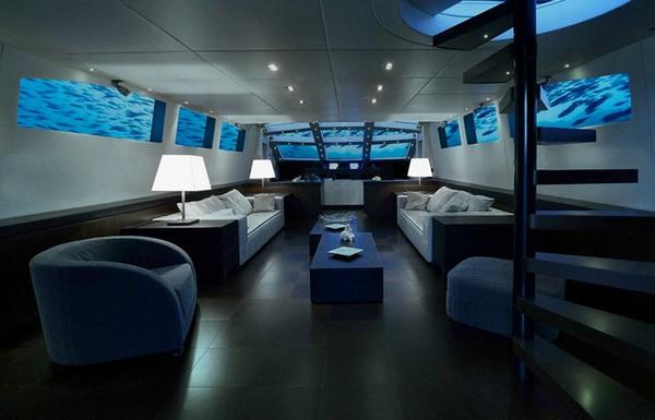 Lovers Deep – шикарный отель в подводной лодке. Источник фото: Oliver's Travels
