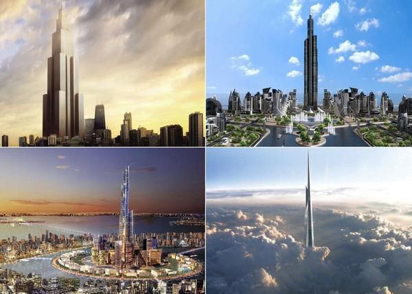 Самые высокие в мире небоскребы будущего