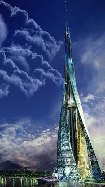 Проект двухкилометрового небоскреба Dubai City Tower в ОАЭ