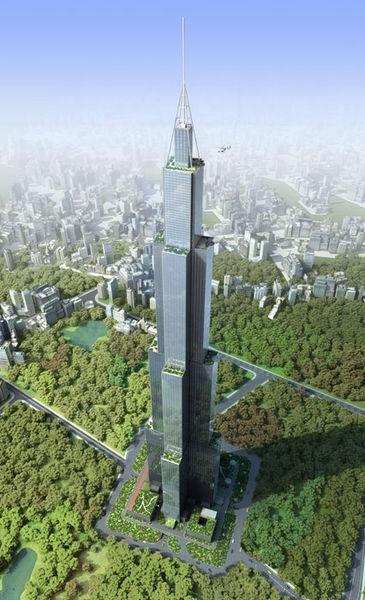 Проект небоскреба Sky City в Китае