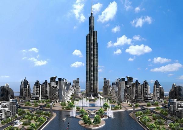 Проект небоскреба Azerbaijan Tower в Азербайджане