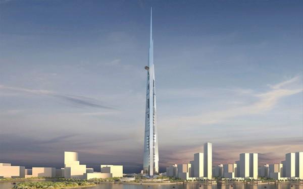 Проект небоскреба Kingdom Tower в Саудовской Аравии
