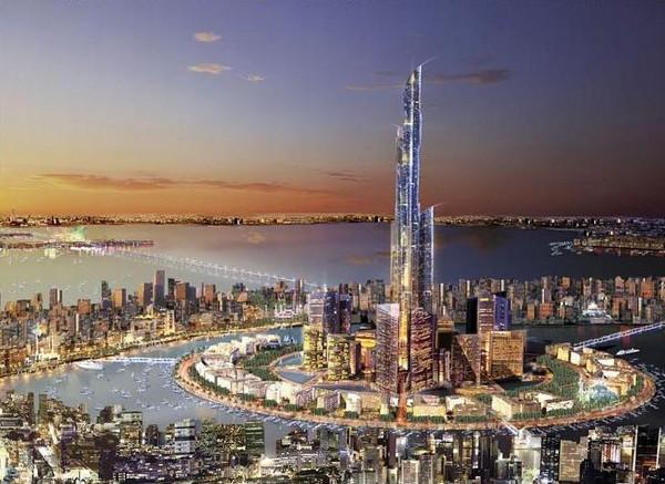 Проект небоскреба Madinat al-Hareer в Кувейте
