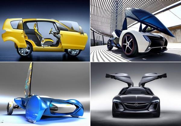 Самые необычные концепт-кары от Opel