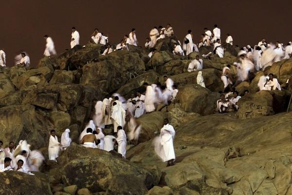Стояние на горе Арафат неподалеку от Мекки